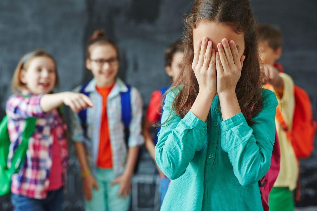 Being bullied in school