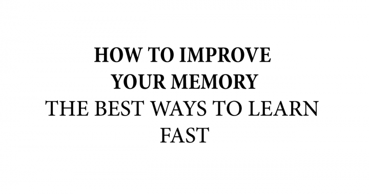 on how to improve your memory