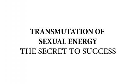 transmutation of sexual energy