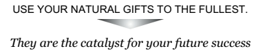 Use your natural gifts