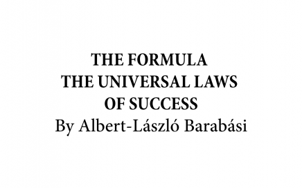 the formula the universal laws of success banner