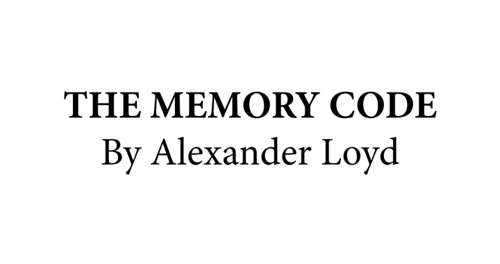 the memory code alexander loyd banner