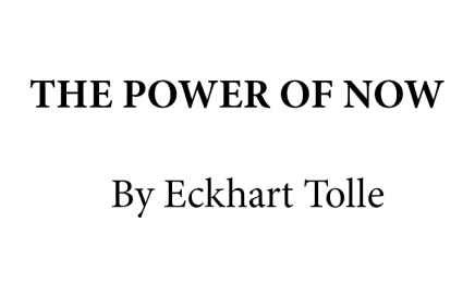 The power of now summary - banner