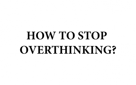 how to stop overthinking banner